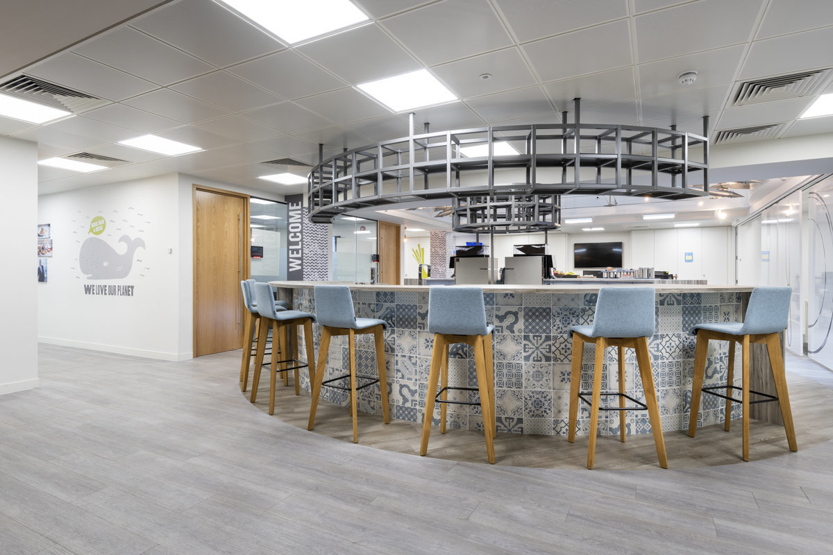kitchen design commercial offices london