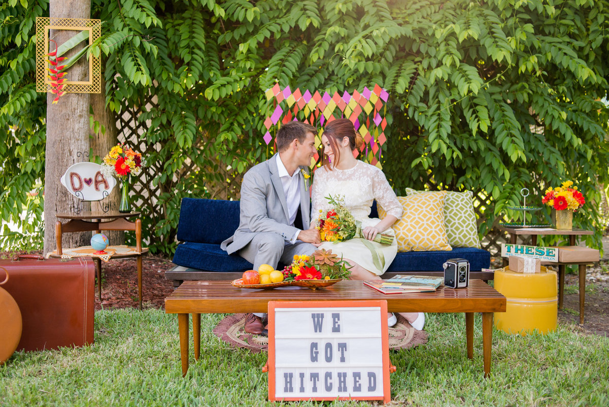 Miami Wedding Photographer | Retro Vintage Wedding 15