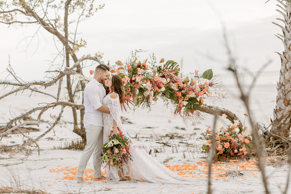 Beach Elopement in Saint Petersburg, Florida 9