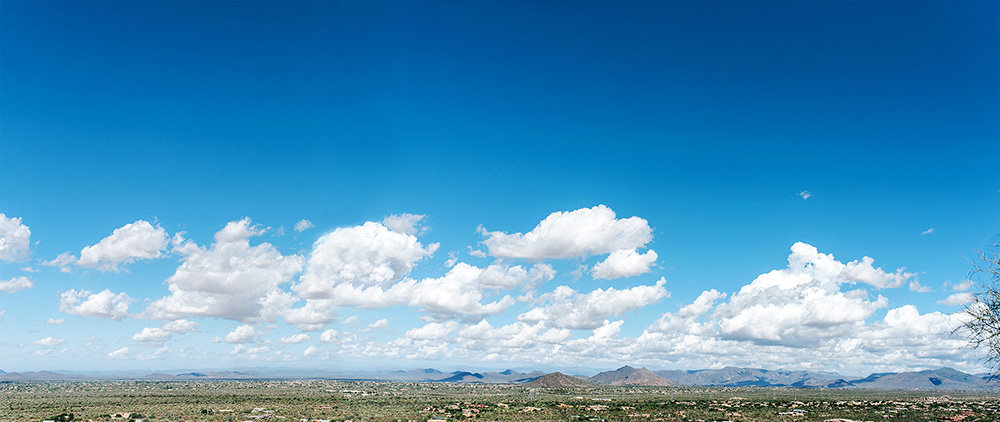 a panorama of scottsdale arizona