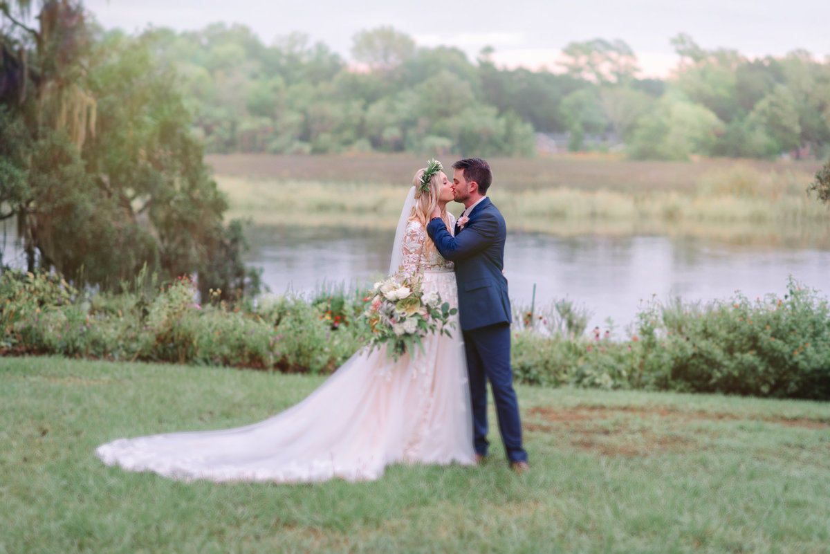 Charleston wedding photographer Alycia and Grant's wedding at Magnolia Plantation in Charleston SC. Charleston wedding photographer