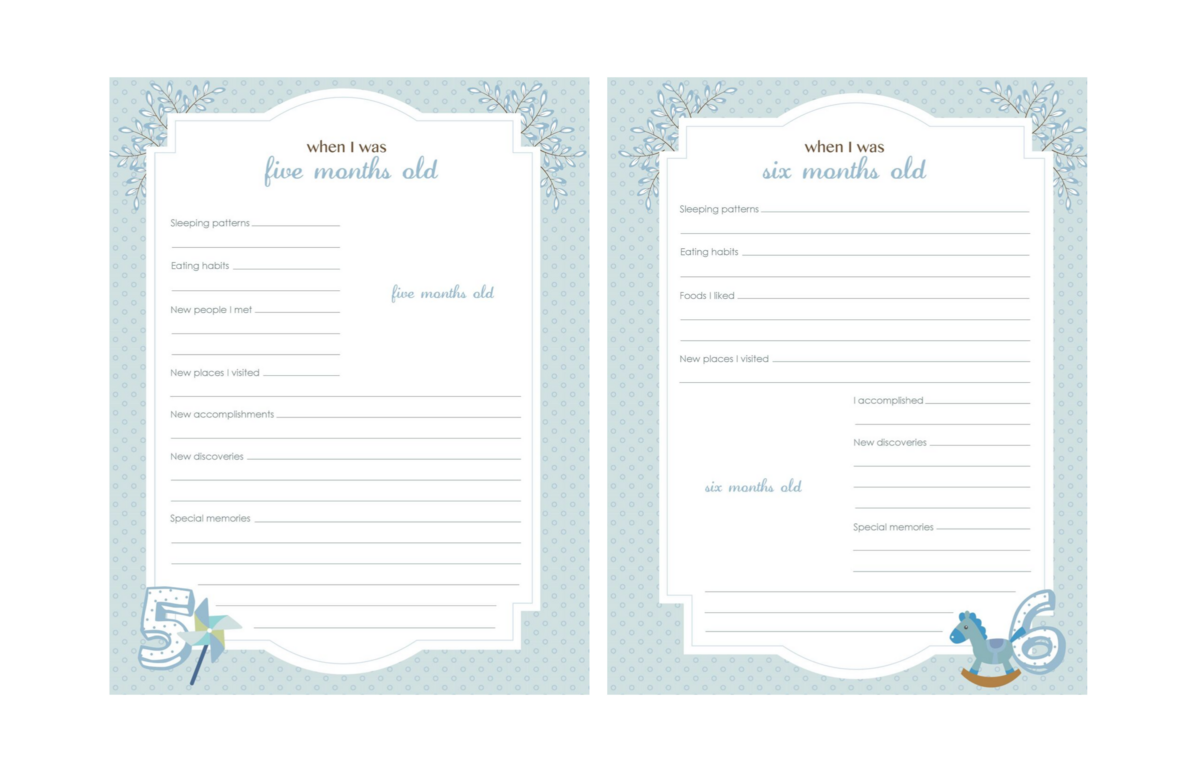 Baby-Book-Pages-Blue-42-43