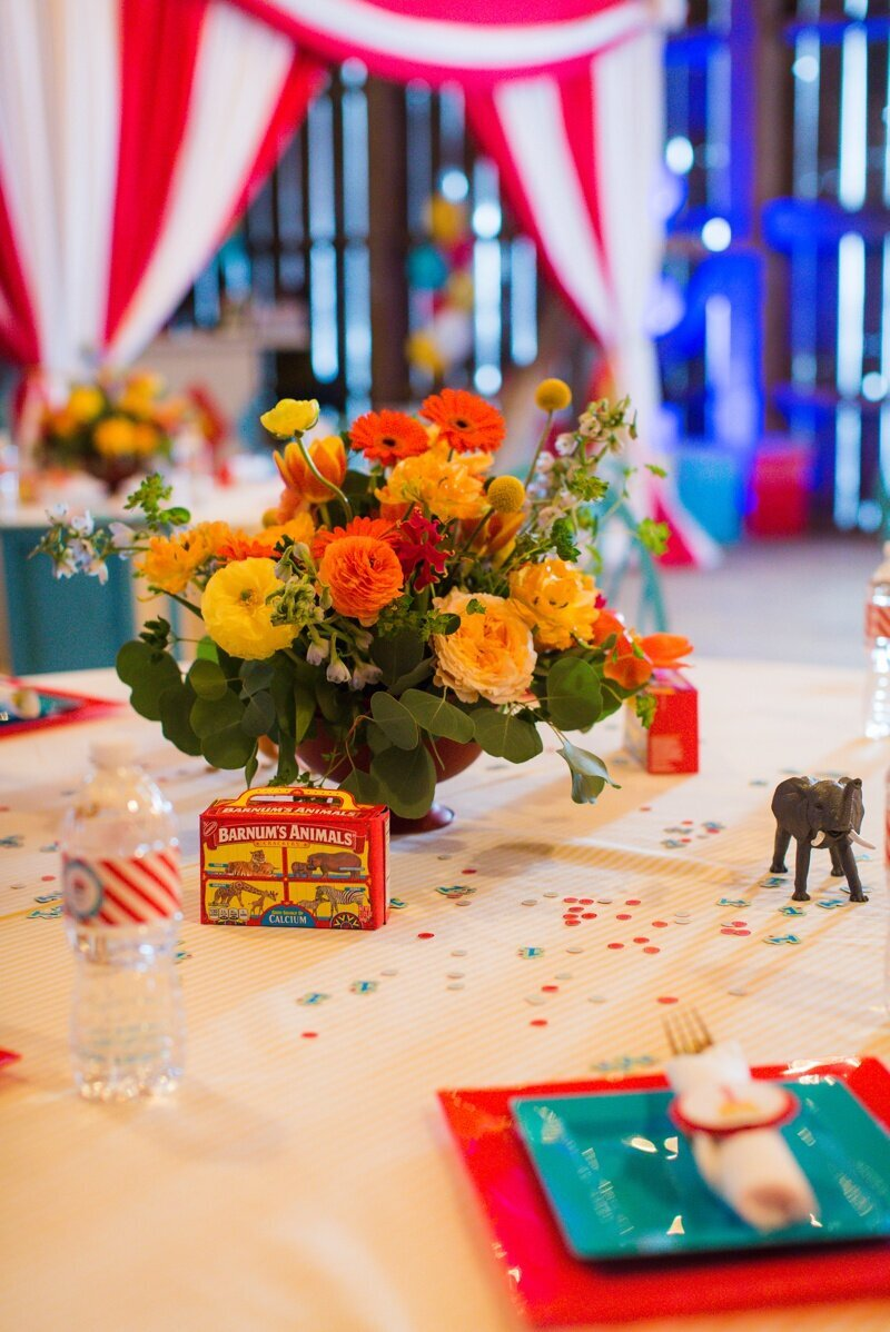 Circus Themed 1st Birthday Indianapolis Party Planner_0026