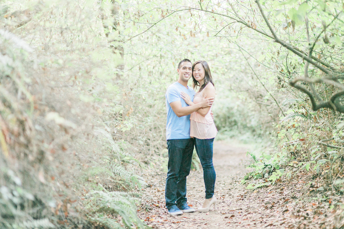 California Forest Ridge Trail Engagement