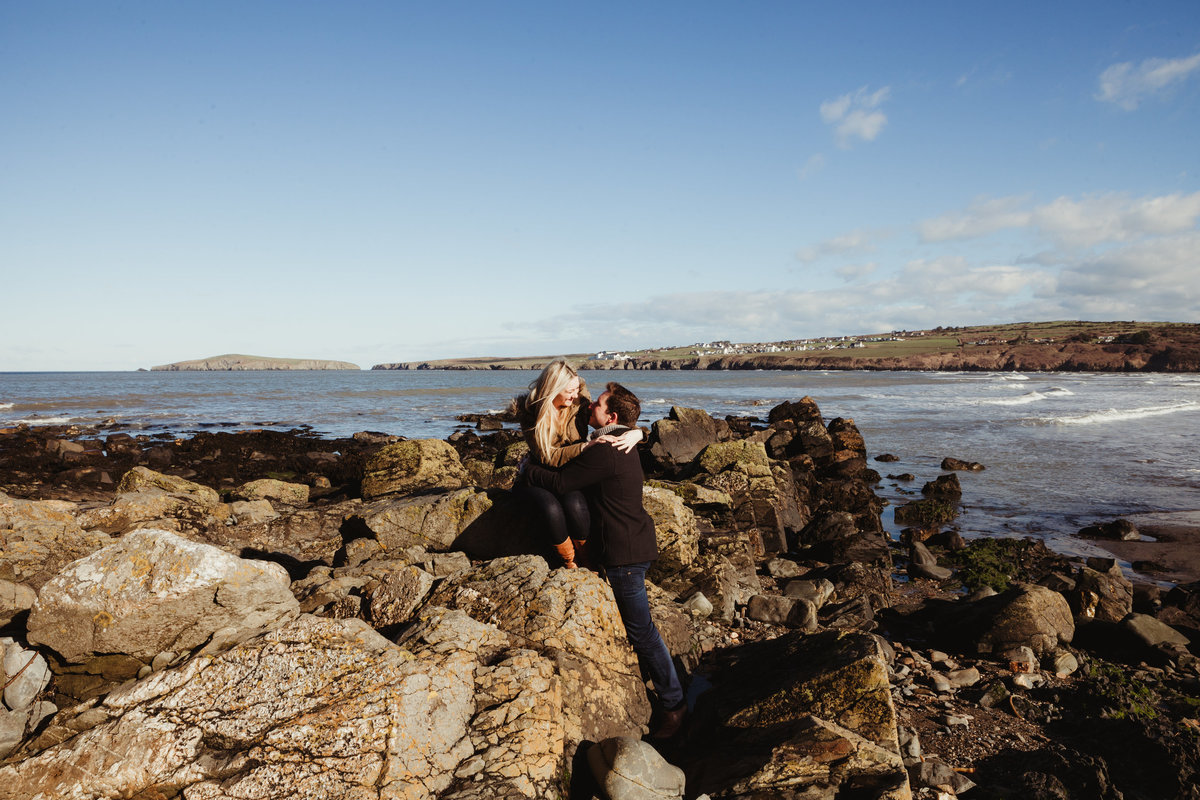beach wedding, engagement photos