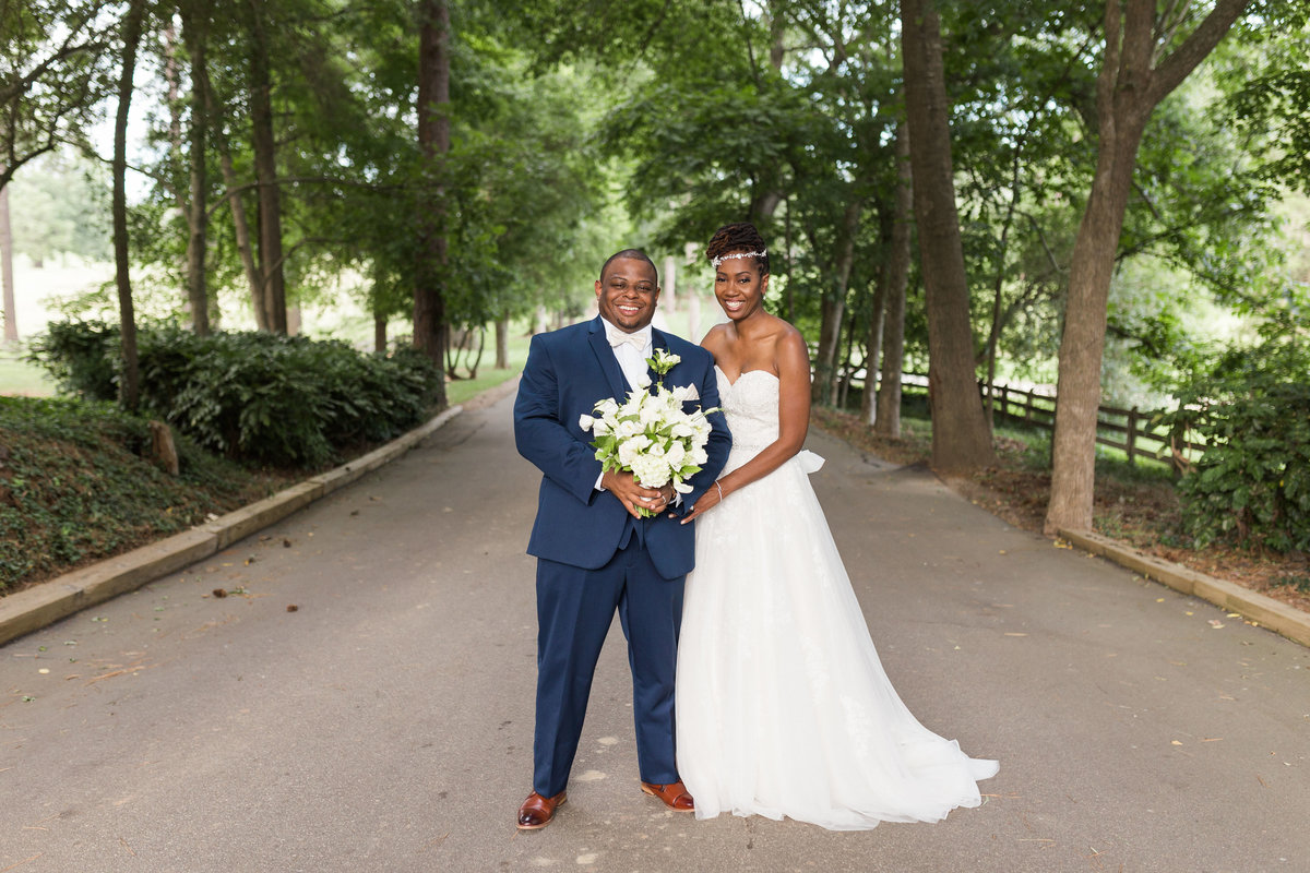 Wedding photos at Rose Hill Plantation
