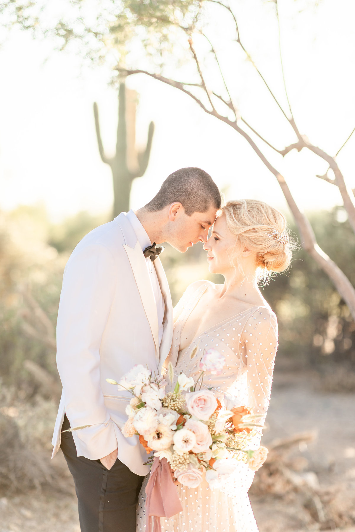 The Country Club at DC Ranch wedding with bohemian style bride at Scottsdale, Arizona wedding