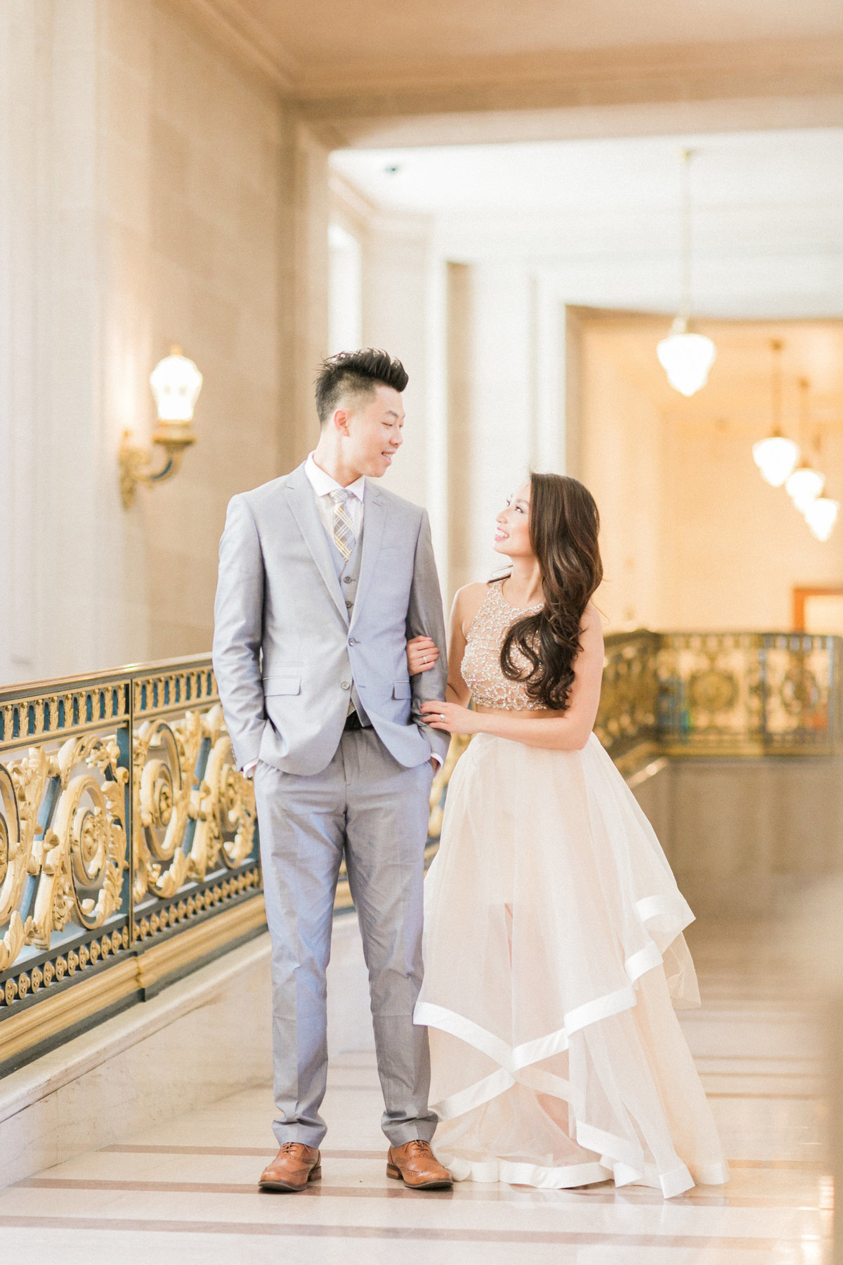 Elegant SF Wedding Photography Evonne and Darren
