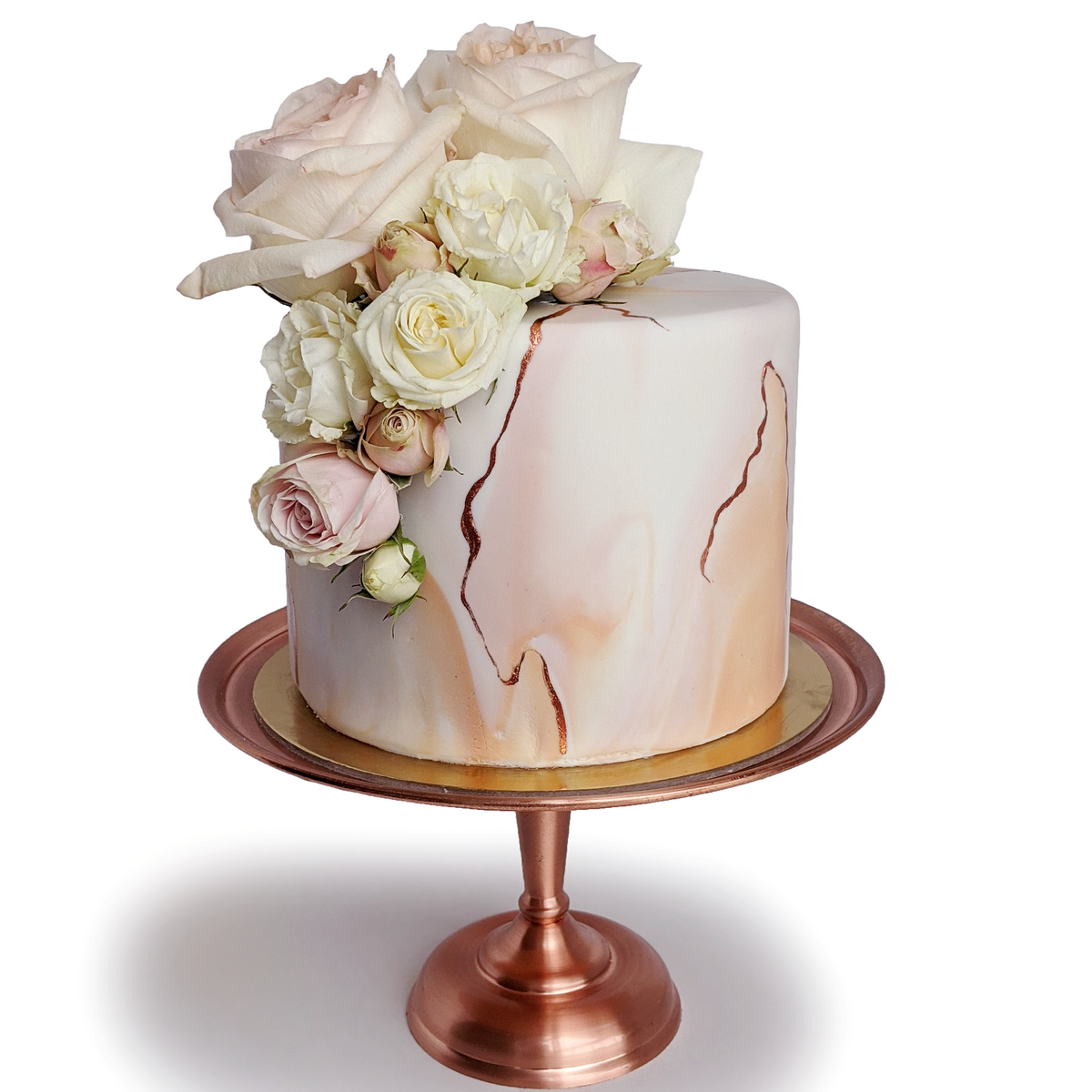 Whippt Kitchen - Marble cake rose gold2