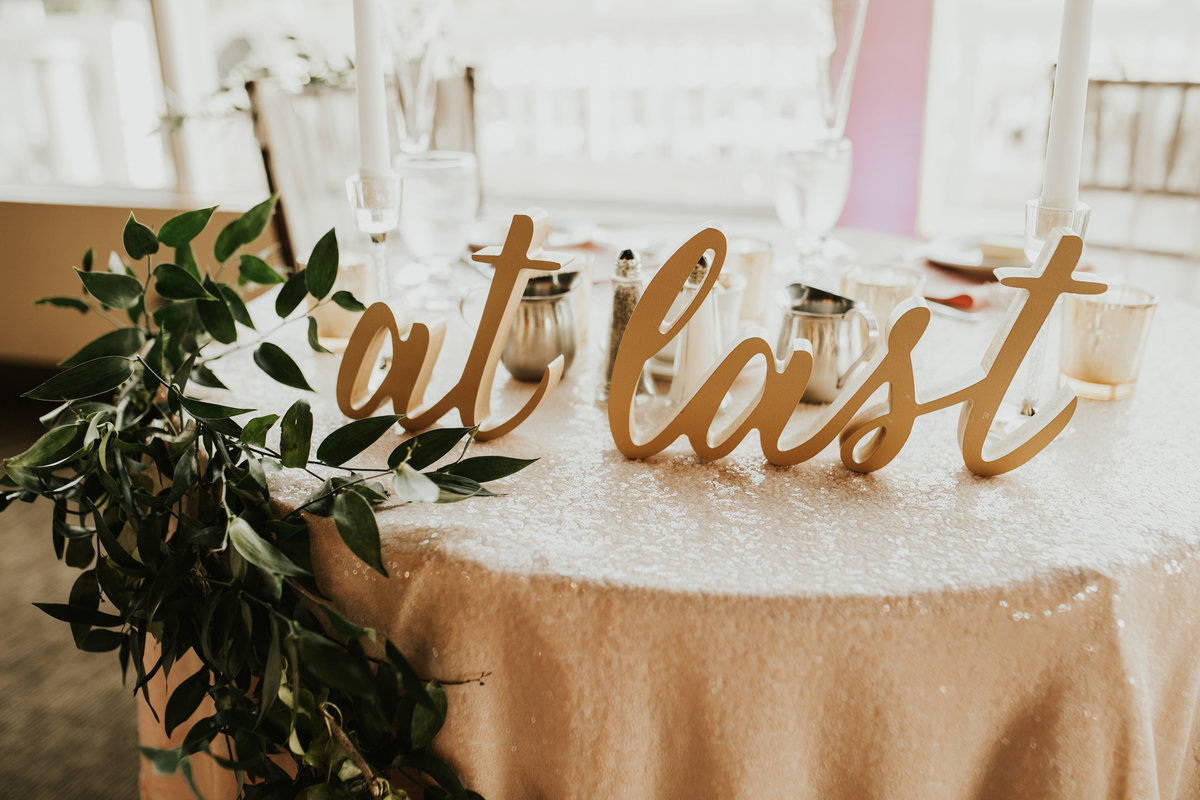 sweetheart table mainline wedding