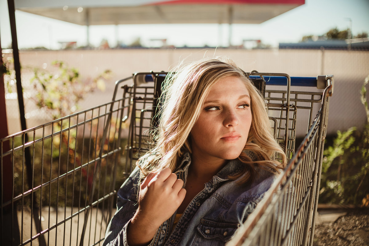 Senior Session at Store