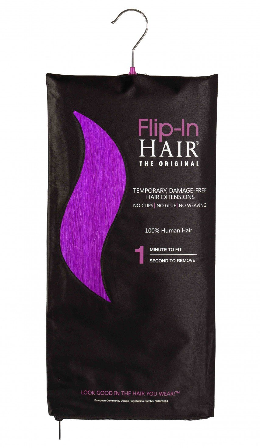 Flip-In Hair Original Purple