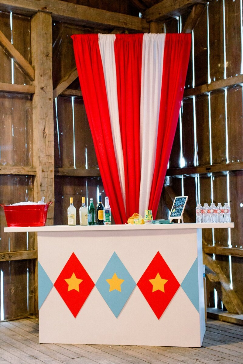 Circus Themed 1st Birthday Indianapolis Party Planner_0008