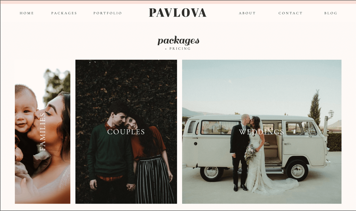 Pavlova Showit Website Template desktop_2