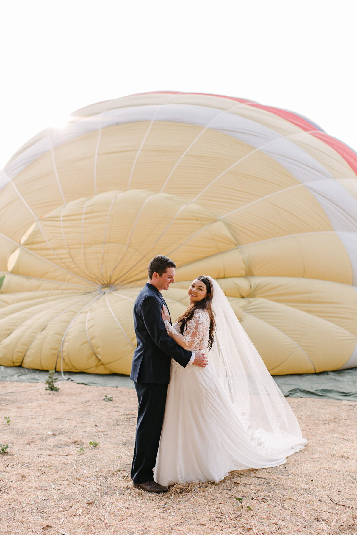 Hot Air Balloon Elopement Marie Monforte Photography-96