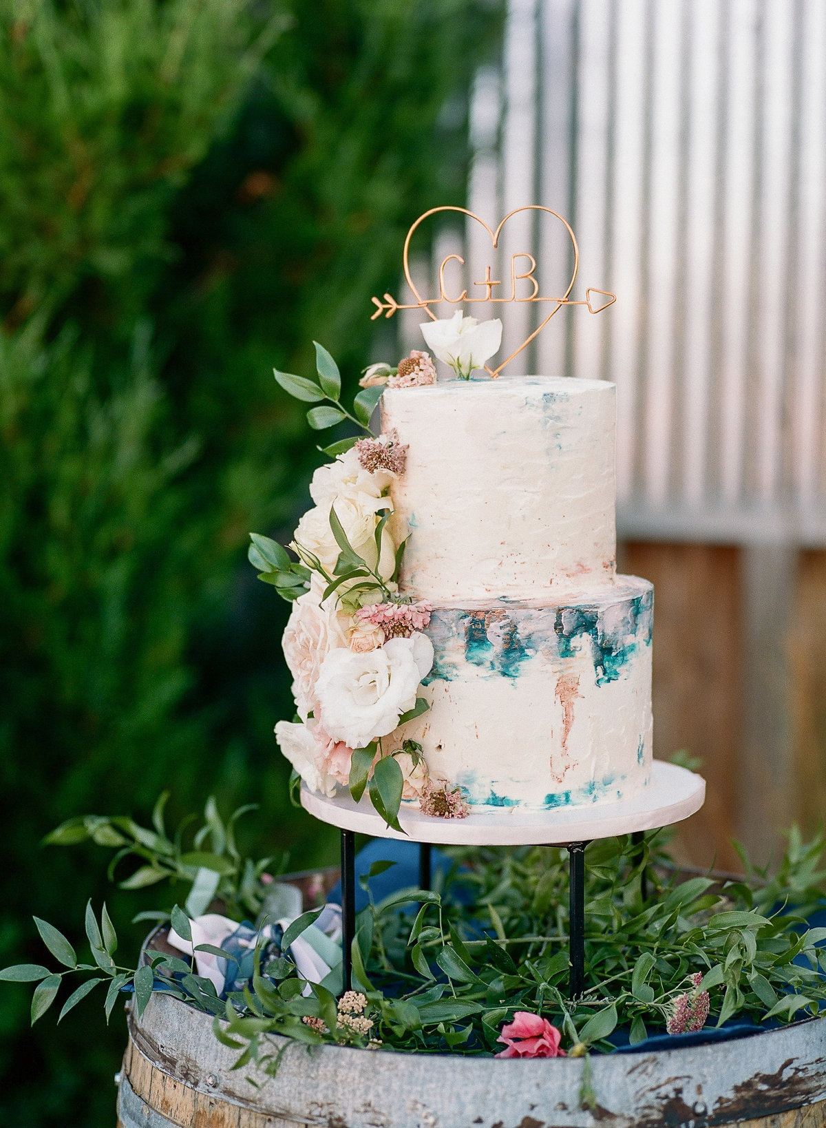 Layered Cake Artistry- Tri Cities Premier Wedding Cakes-137