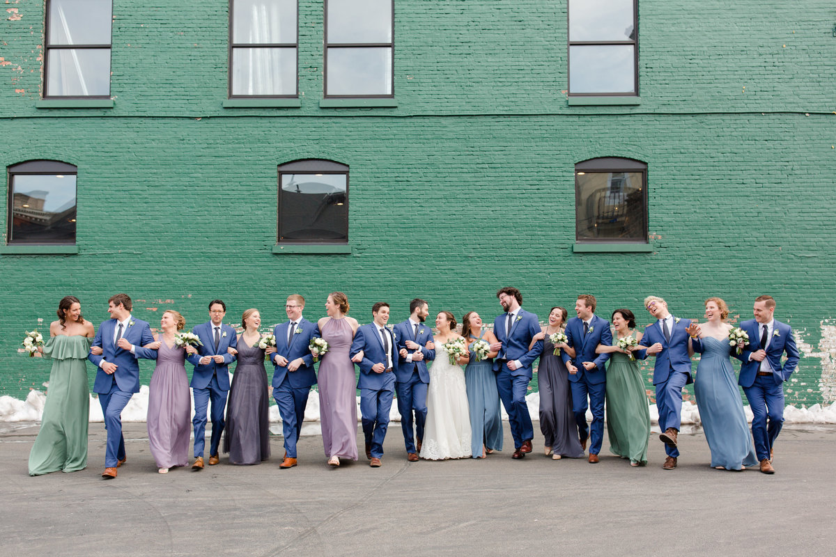 Mercantile Hall Wedding Party Reception - Burlington, Wisconsin