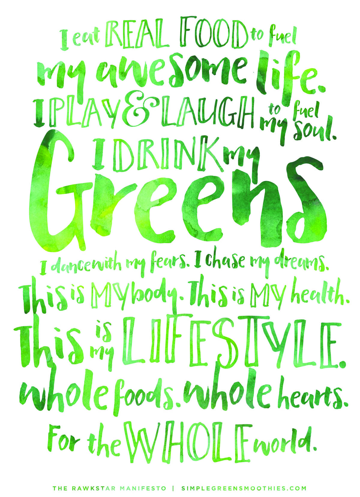 Simple-Green-Smoothie-Recipes-Rawkstar-Manifesto2