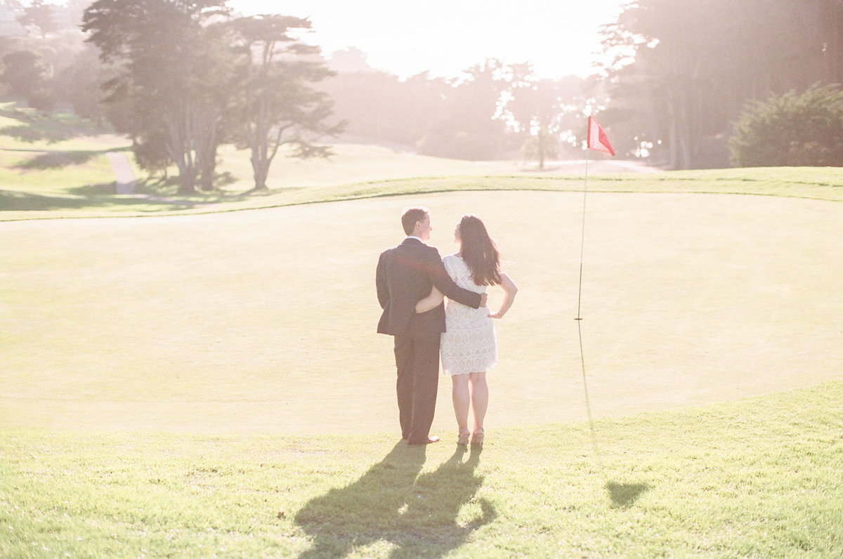 Presidio Golf Course Wedding Photography