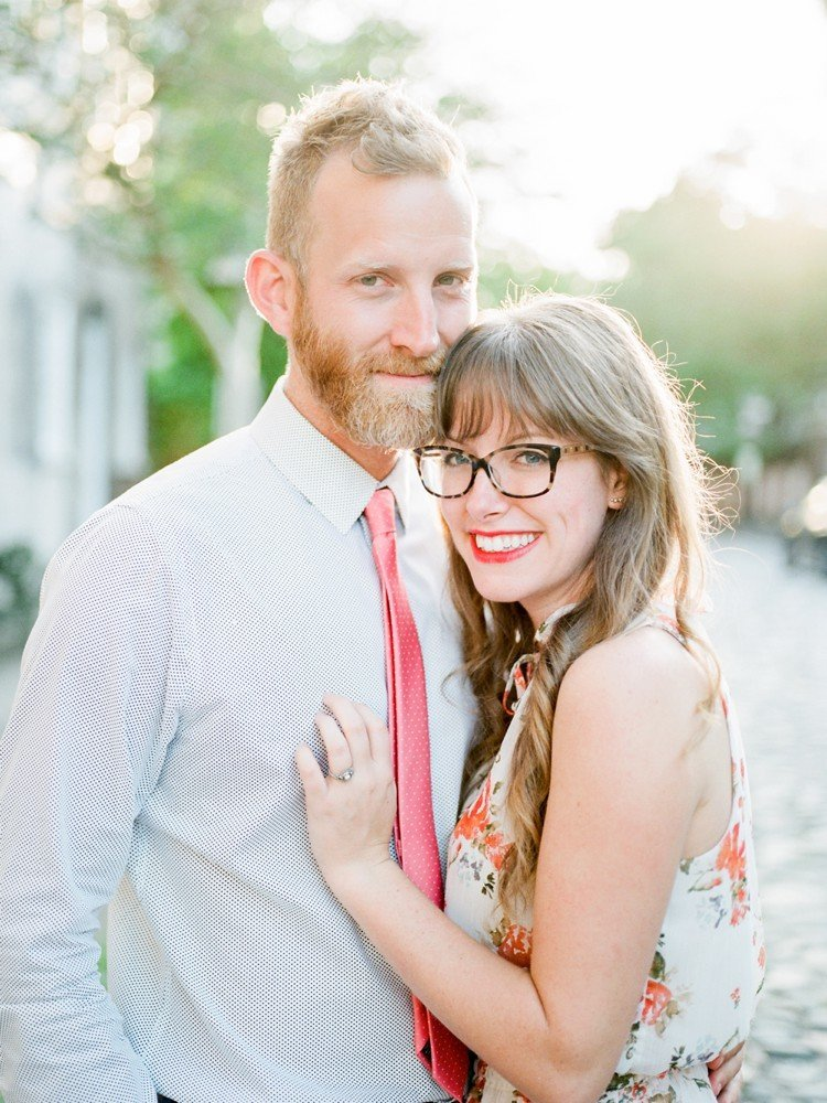 Rebekah Emily Photography Charleston Wedding Photographer Downtown Charleston Engagement Session_0011