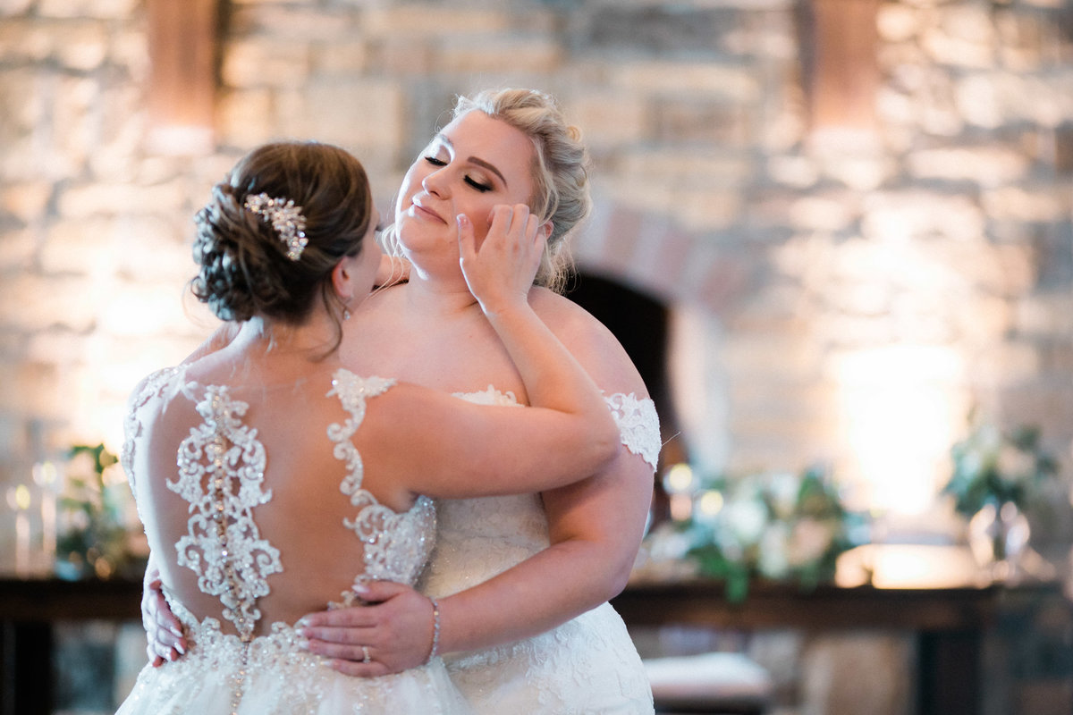historic acres of hershey wedding - first dance moments