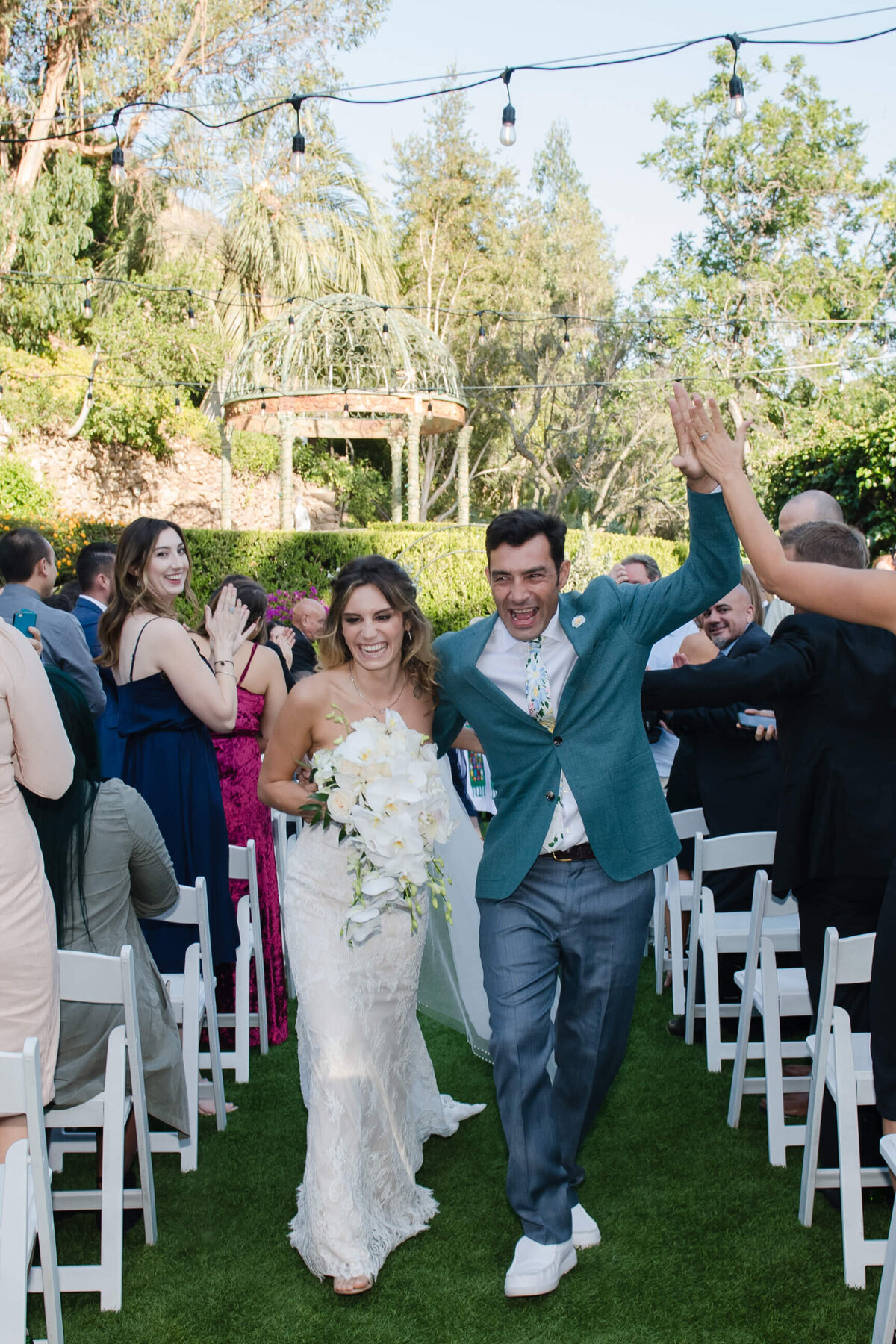 Los Angeles Wedding at the Houdini Estate in Los Angeles