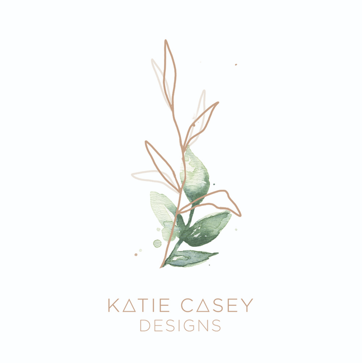 Wander Design Co Katie Casey Designs Logo