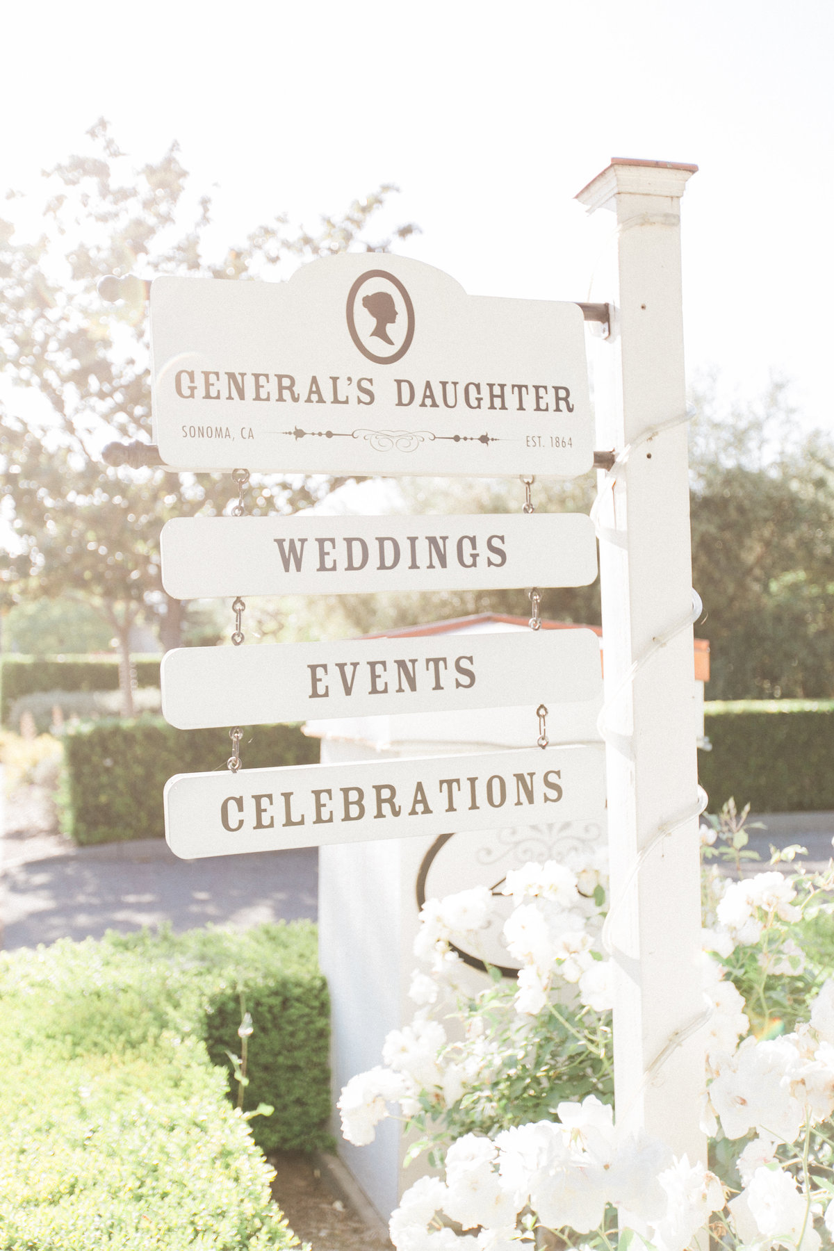 Generals Daughter Sonoma Weddings