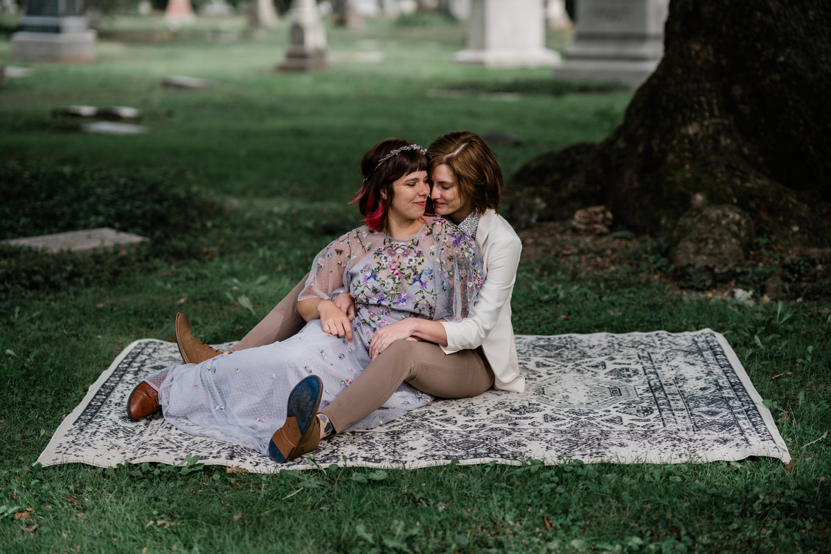 Claire and Rachel Pre Elopement LGBTQ friendly Cincinnati Wedding Photographers-28
