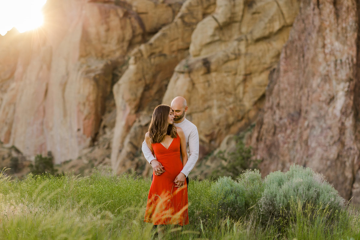 Smith Rock Engagement Session - Bend Oregon-81