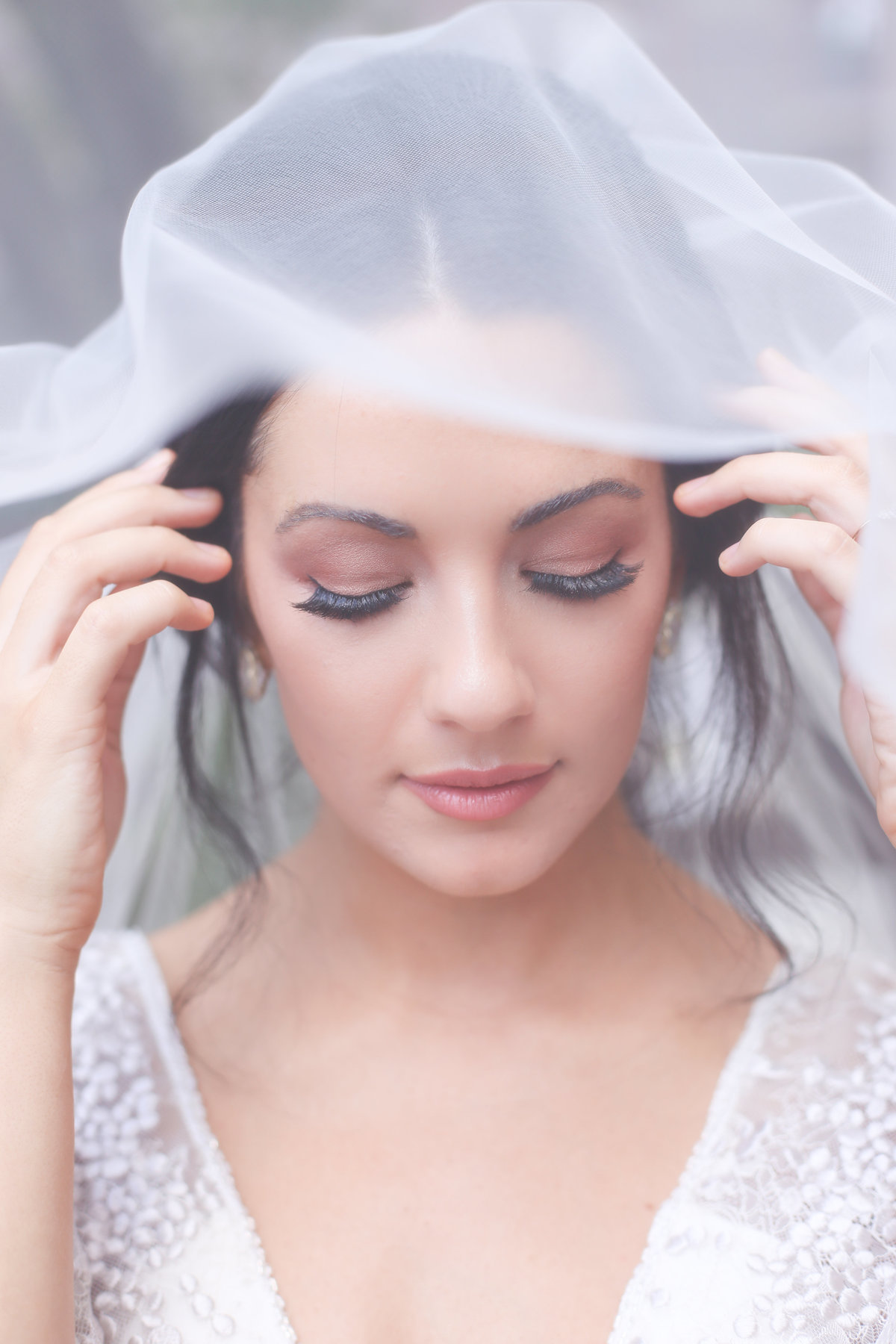 Bride Veil - Feasts of Fancy - West Bottoms Kansas City Wedding Professional