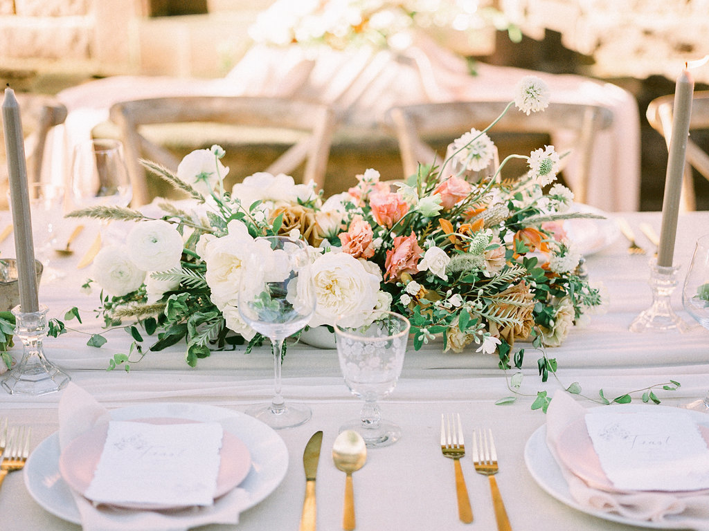 Summer Wedding Tyler Gardens Philadelphia centerpiece florist