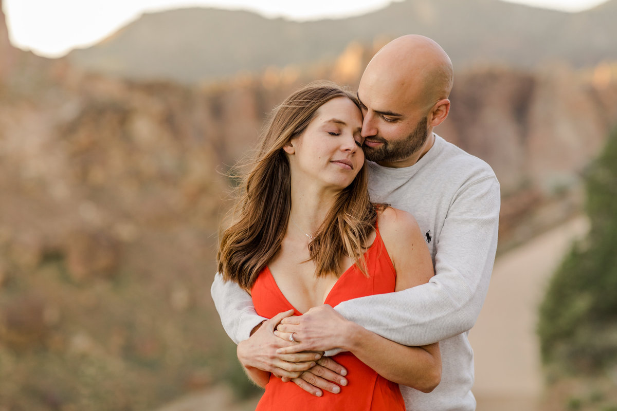 Smith Rock Engagement Session - Bend Oregon-117