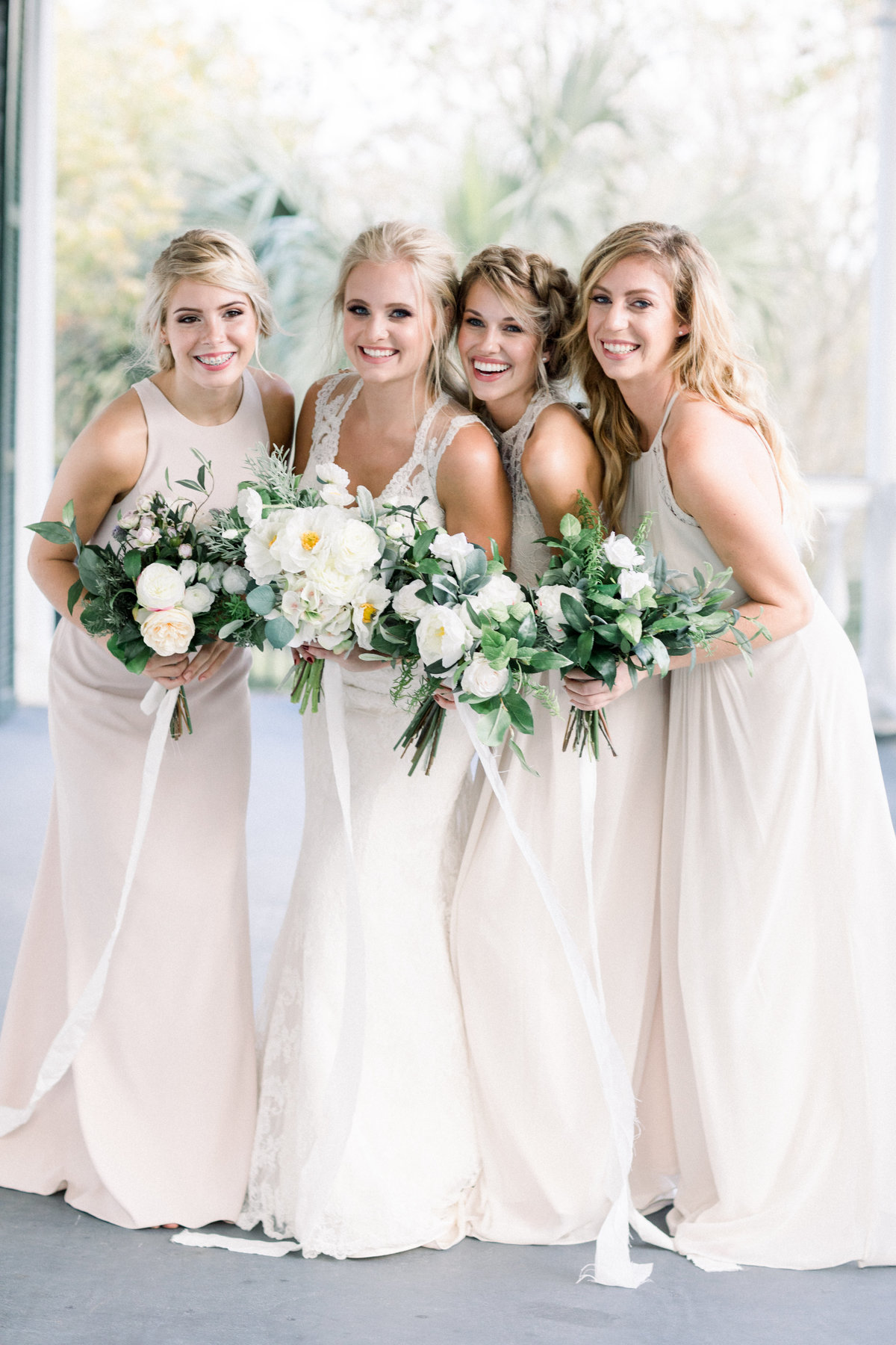 Bride and Bridesmaids-7928