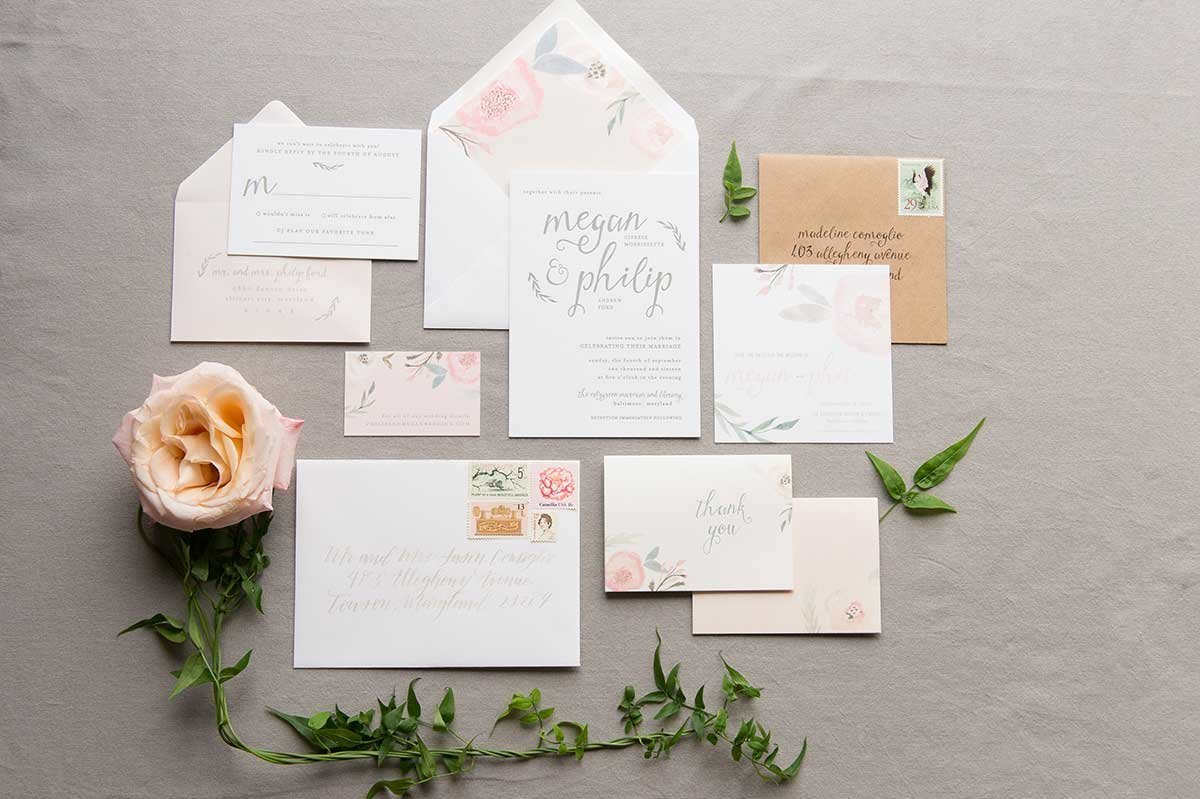 MeganPhil-Letterpress-Floral-InvitationSuite-Evergreen