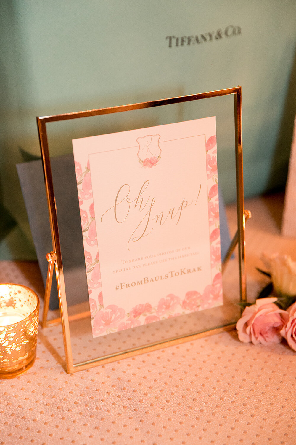 florida beach wedding invitation blush floral monogram 24