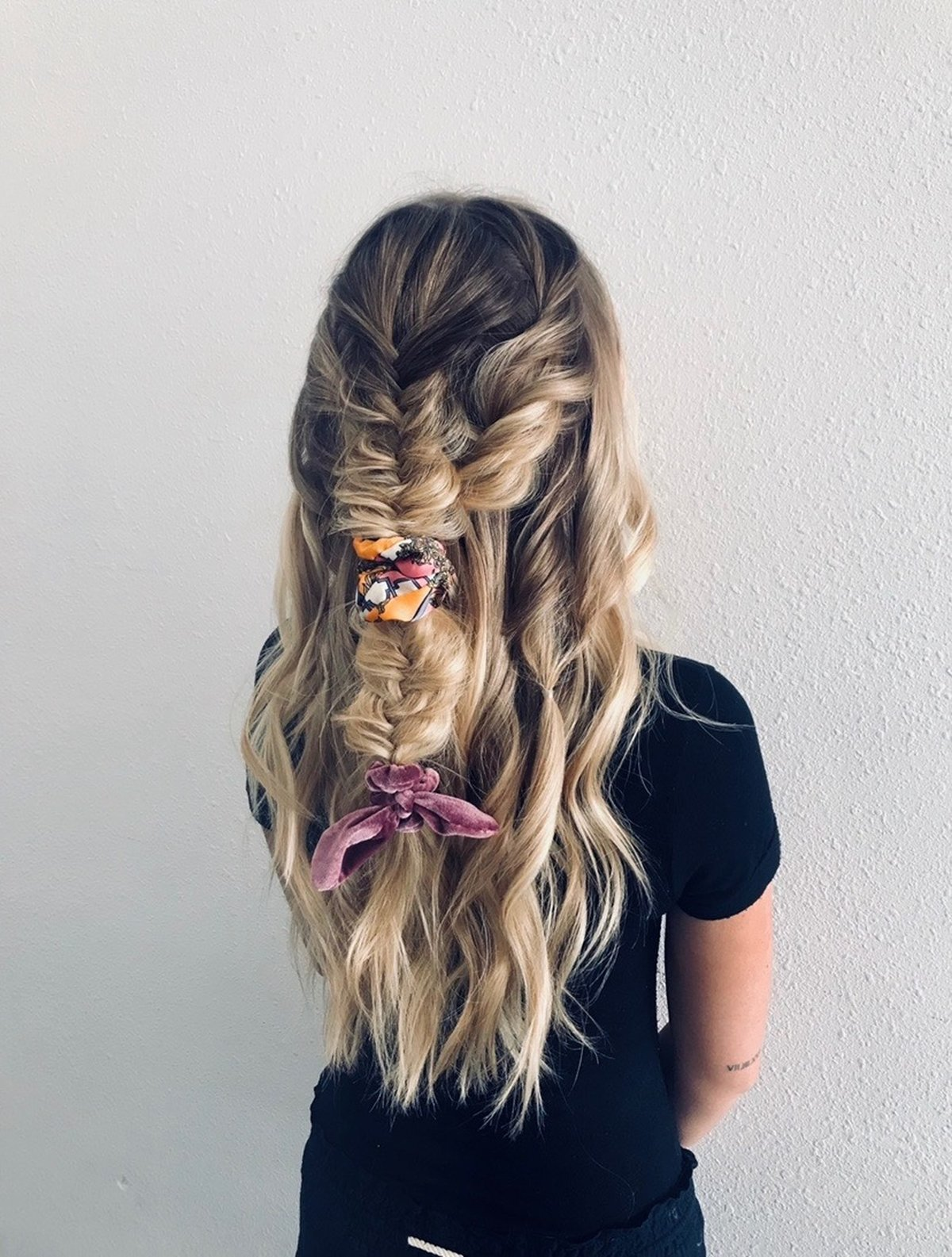 Braided Bow Hairstyle