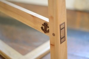 Baby Cradle Leg by Sam Rouse Furniture