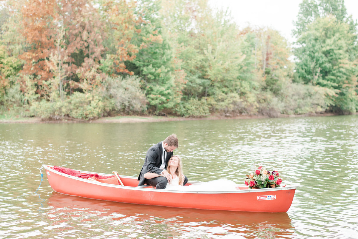 Cait Potter Creative LLC Final Version Canoe Adventure Wedding -3