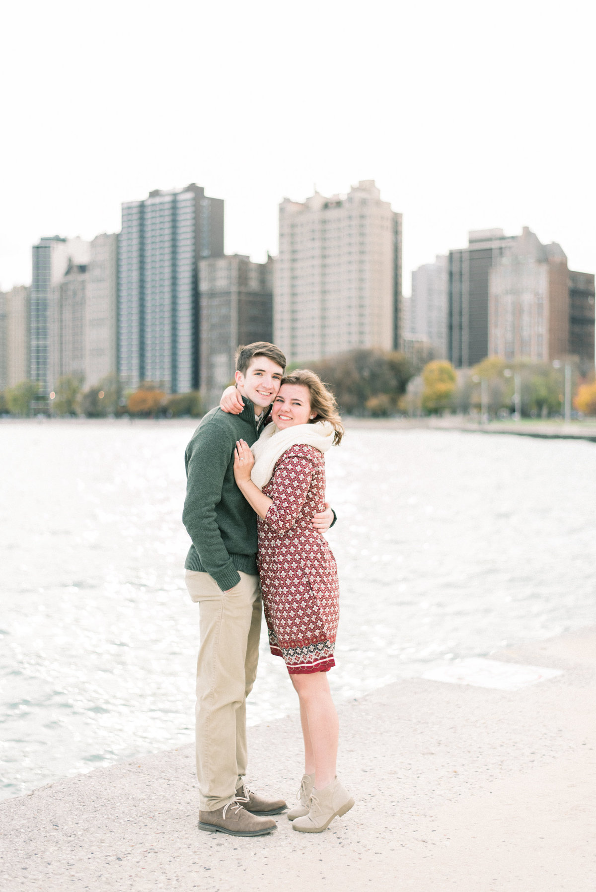 chicago engagement pictures - destination wedding photographer