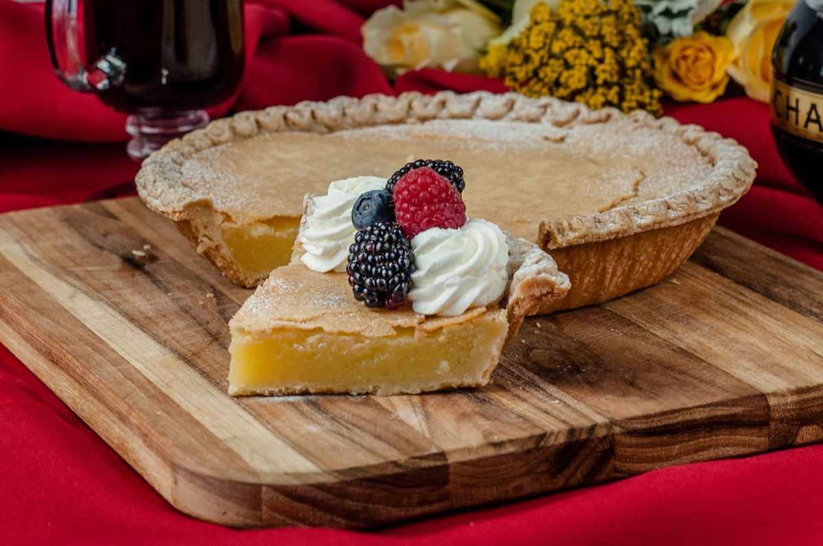 Kim Fontaine Chess Pie food photo