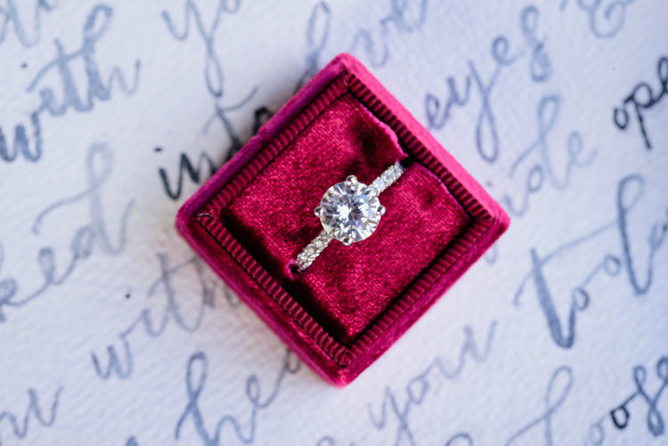 Styled Shoot-3 ring pic