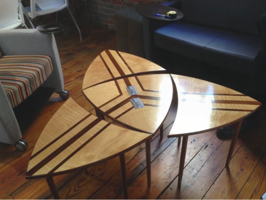 Trifecta Coffee Table by Sam Rouse Furniture