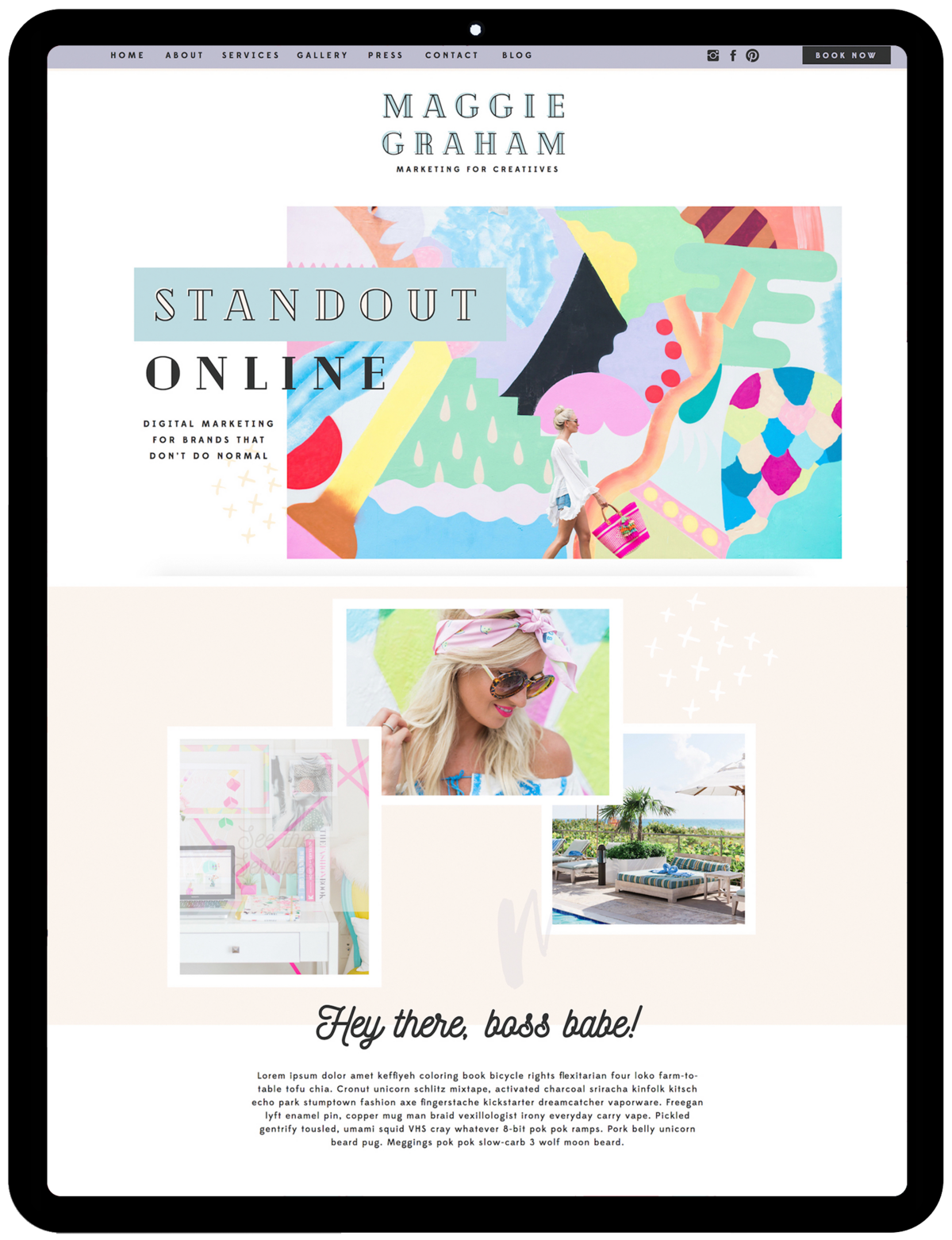 Maggie-template-showit