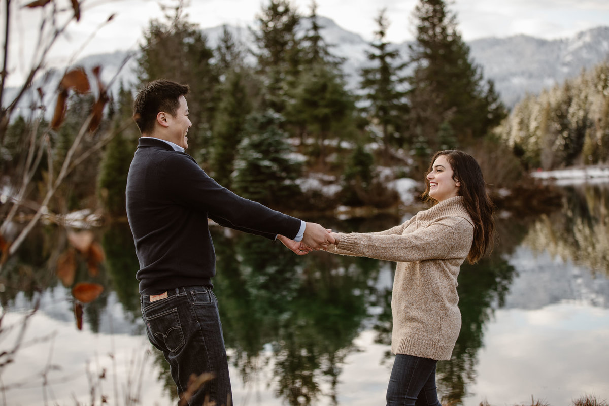Most popular photographer for engagement photos in PNW