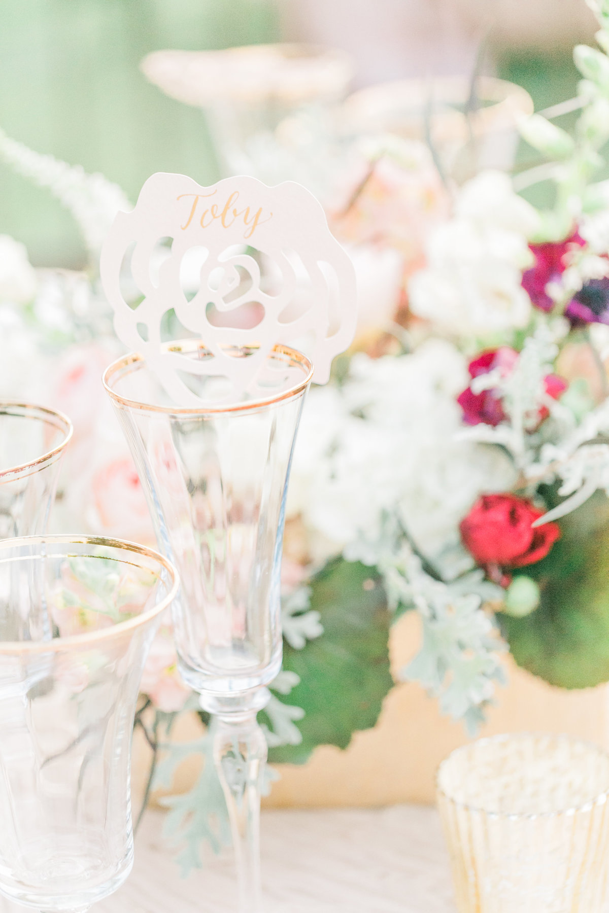 Gilded Champagne Wedding