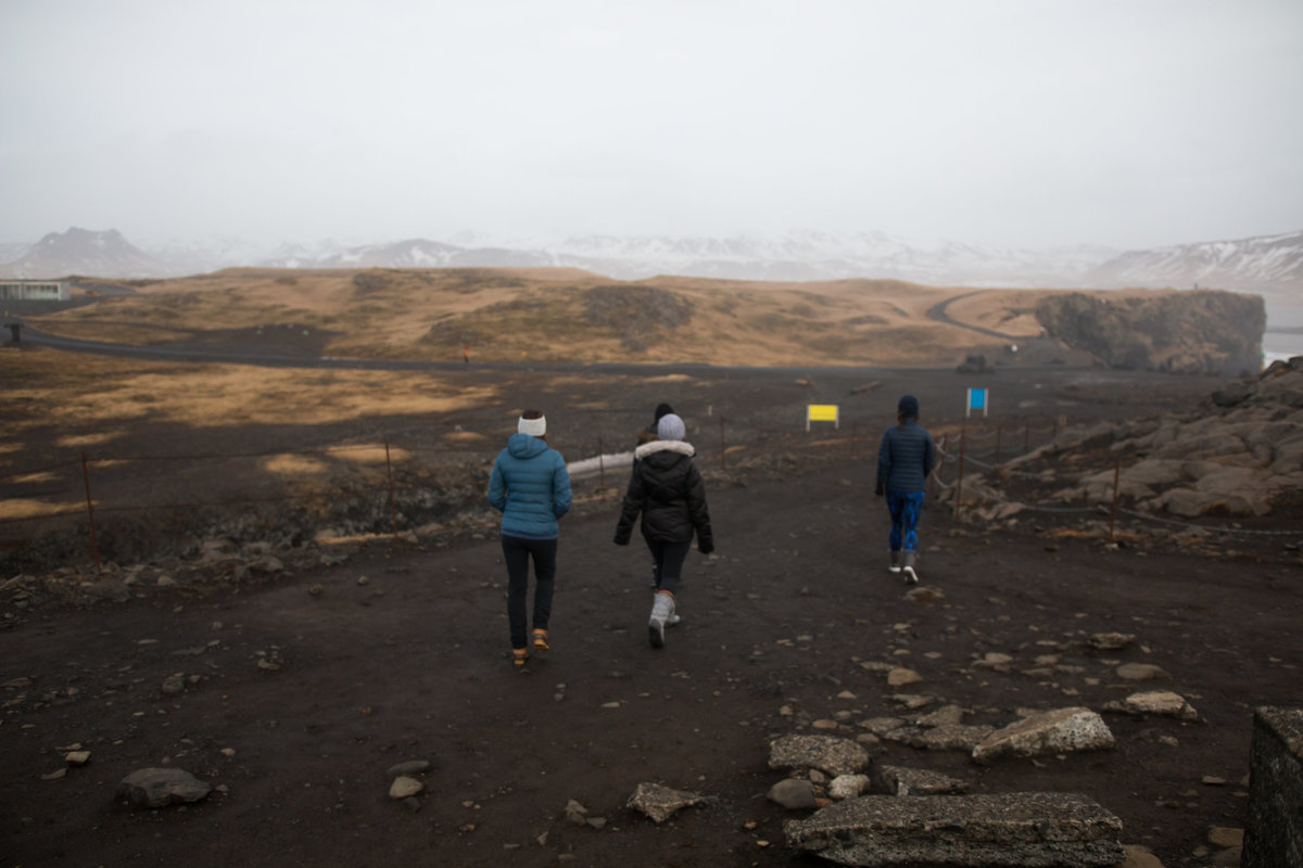 hiking in Iceland travel photography