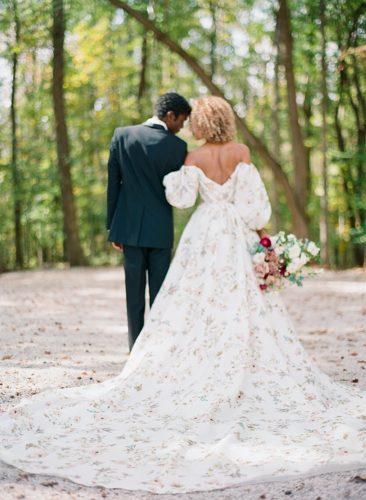 Carolina Grove Monet Inspired Wedding Photography, North-Carolina 13