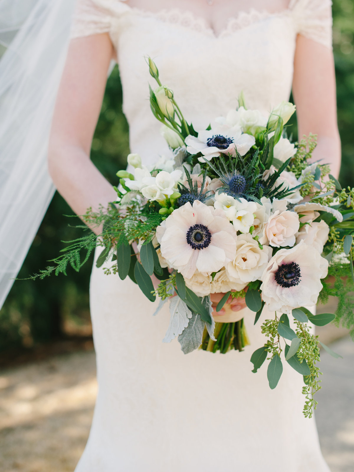 Organic Bouquet Stave Room Wedding