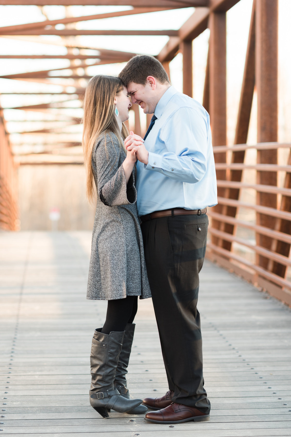 20190302 - Jannae and Forest Engagement Session 198 - A Winter Reid Merrill Park Engagement Session